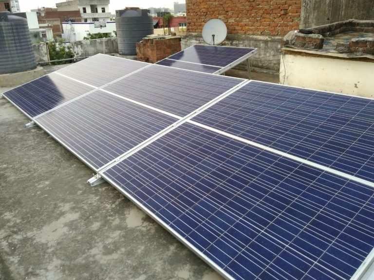 Rooftop Solar PV Installation Zolt India 2