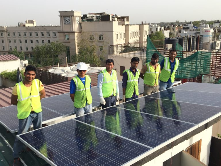 Rooftop Solar PV Installation Zolt India 5