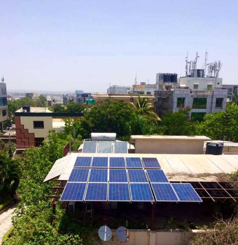 Rooftop Solar PV Installation Zolt India 6