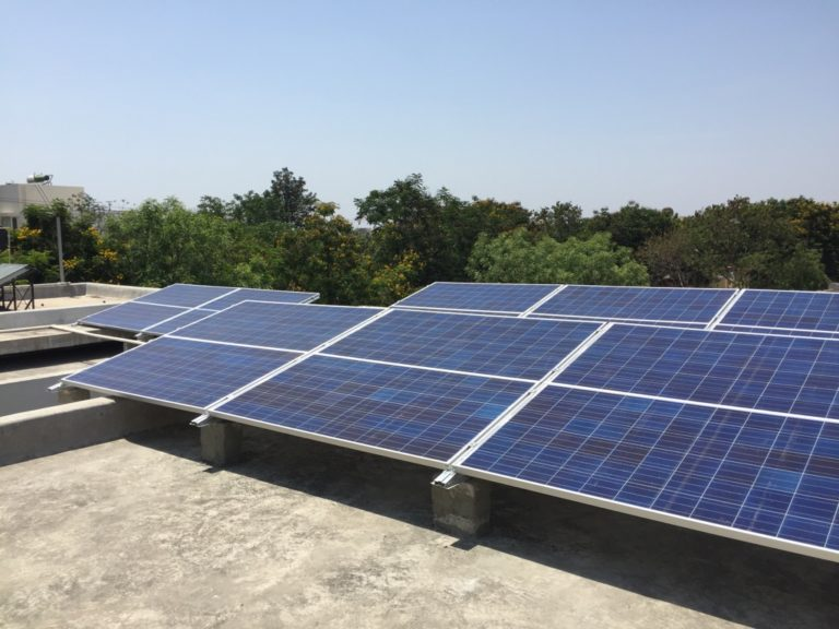 Rooftop Solar PV Installation Zolt India 9