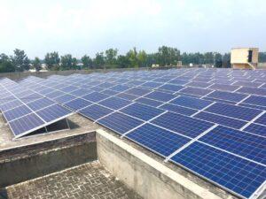 100KW Solar Factory Panipat