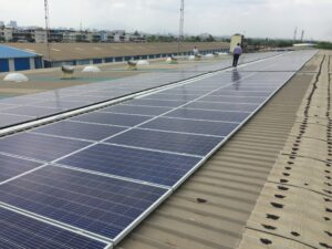 160KW Solar Warehouse Bhiwandi